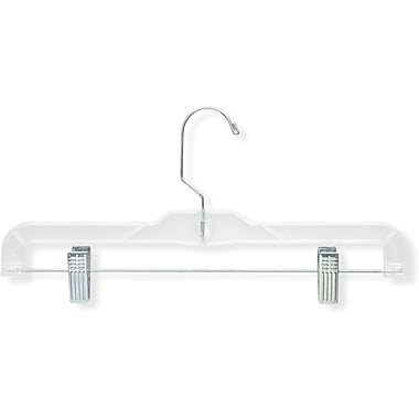 Honey Can Do 12 Pack Crystal Clear Skirt/Pant Hanger