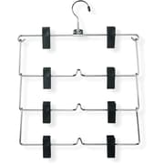 Honey Can Do Four-Tier Fold Up Skirt Hanger, 2/Pack