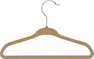 Honey Can Do 60 pack Kids Velvet Touch Suit Hangers, 60/Pack