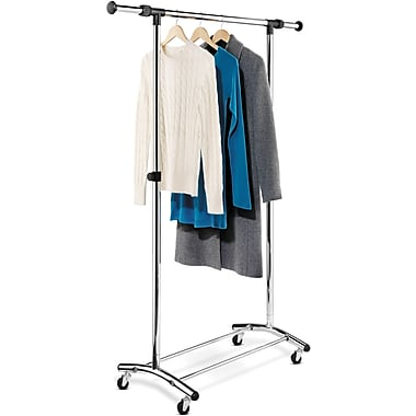 Honey Can Do Commercial Chrome Garment Rack