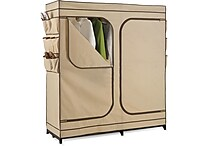 Honey Can Do 60' Double Door Storage Closet, Tan