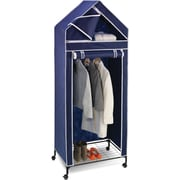 "Honey Can Do 30"" Portable Storage Closet, blue (WRD-01273)"