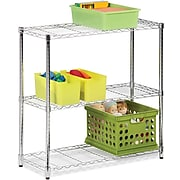 Honey Can Do Three tier chrome storage shelf