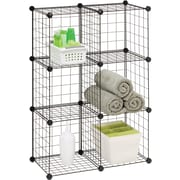 Honey Can Do® Modular Mesh Storage Cubes, 6/Pack