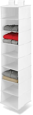 Honey Can Do 8 Shelf Hanging Organizer, White (SFT-01239)