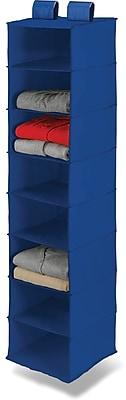 Honey Can Do 8 Shelf Hanging Organizer, Blue (SFT-01275)