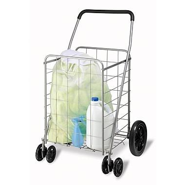 Honey-Can-Do International CRT-01640 Foldable Utility Cart, Chrome