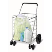 Honey-Can-Do International CRT-01640 Foldable Utility Cart, Chrome