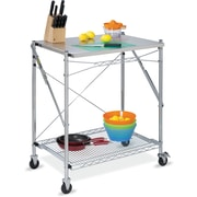 Honey Can Do® Stainless Steel Folding Urban Work Table