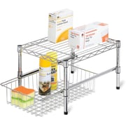 Honey Can Do® Adjustable Shelf with Under Cabinet Organizer