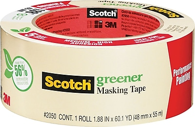 Scotch® Greener Masking Tape for Performance Painting, 1.88