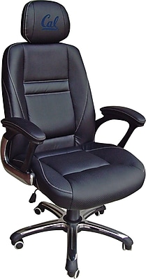 Wild Sports NCAA Leather Executive Chair, California Golden Bears
