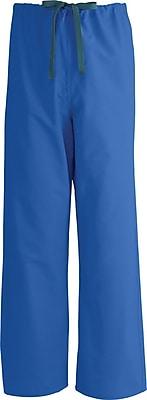 Medline AngelStat Unisex Large Reversible Drawstring Scrub Pants, Ceil Blue (601NTHL-CM)