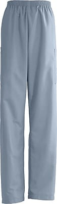 Medline AngelStat Unisex Small Elastic Waist Cargo Scrub Pant, Misty Green (674NTZSL)