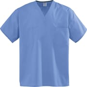 Encore™ Unisex One-pocket Rev Scrub Tops, Ceil Blue, ANG-CC, XS
