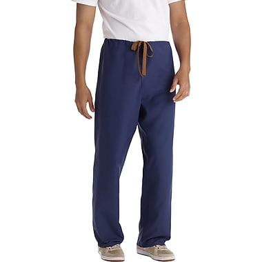 Medline PerforMAX Unisex 3XL Reversible Scrub Pants, Navy (800NNTXXXL-CM)