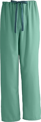 Medline PerforMAX Unisex Large Reversible Scrub Pants, Jade (800NTJL-CA)