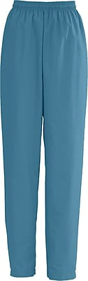 Medline AngelStat Women Small Elastic with Draw Cord Scrub Pant, Peacock (854NBTS)