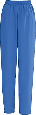 Medline AngelStat Women 5XL Elastic with Draw Cord Scrub Pant, Sapphire (854NHT5XL)