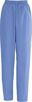 Medline AngelStat Women XL Elastic with Draw Cord Scrub Pant, Ceil Blue (854NTHXL)