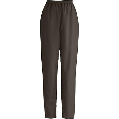 Medline ComfortEase Women Large Elastic Waist Scrub Pant, Brown (8850JBRL)