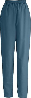 Medline ComfortEase Women XL Elastic Waist Scrub Pant, Caribbean Blue (8850JCBXL)