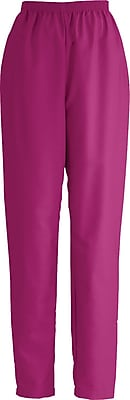 Medline ComfortEase Women XL Elastic Waist Scrub Pant, Ruby (8850JRBXL)