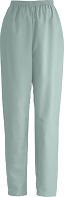 Medline ComfortEase Women 2XL Elastic Waist Scrub Pant, Seaspray (8850JSSXXL)