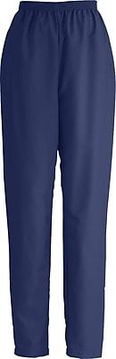 Medline ComfortEase Women XL Elastic Waist Scrub Pant, Midnight Blue (8852JNTXL)