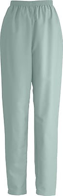 Medline ComfortEase Women Large Elastic Waist Scrub Pant, Seaspray (8852JSSL)