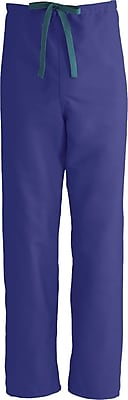 Medline ComfortEase Unisex 3XL Reversible Scrub Pants, Purple (900JPPXXXL-CM)