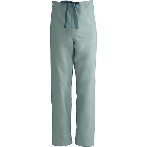 7a0d44b4ced Medline ComfortEase Unisex Medium Reversible Scrub Pants, Seaspray  (900JSSM-CM). https://www.staples-3p.com/s7/is/