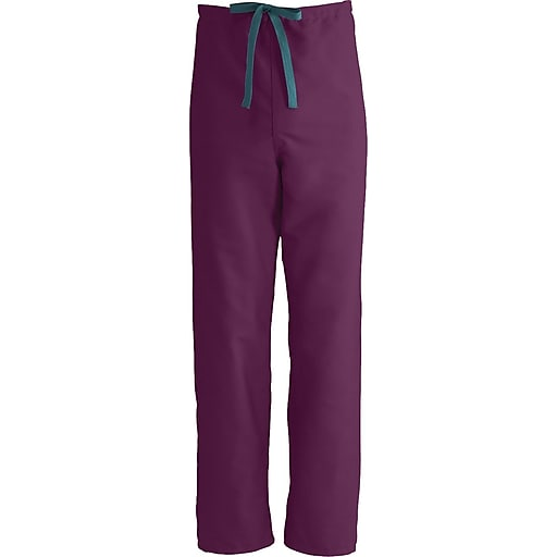 24af6fc40f5 Medline ComfortEase Unisex 3XL Reversible Scrub Pants, Wine  (900JWNXXXL-CM). https://www.staples-3p.com/s7/is/