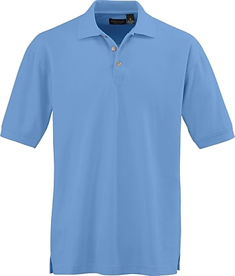 Medline Men 3XL Whisper Pique Polo Shirt, Cornflower (930CFLXXXL)