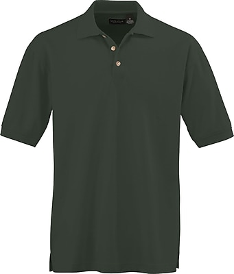 Medline Men XL Whisper Pique Polo Shirt, Forest Green (930FORXL)