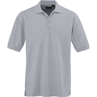 Medline Men XL Whisper Pique Polo Shirt, Gray (930GRYXL)