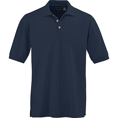 Medline Men 2XL Whisper Pique Polo Shirt, Navy Blue (930NVYXXL)