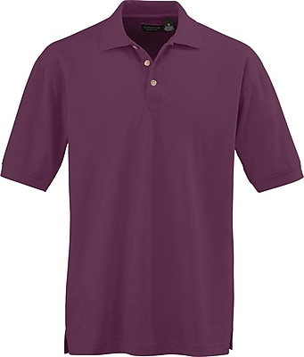 Medline Men 2XL Whisper Pique Polo Shirt, Wine (930WNEXXL)