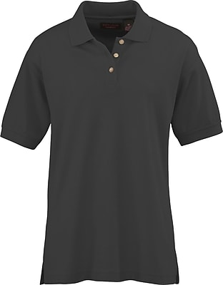 Medline Women XL Whisper Pique Polo Shirt, Black (931BLKXL)