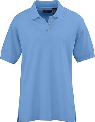 Medline Women XL Whisper Pique Polo Shirt, Cornflower (931CFLXL)
