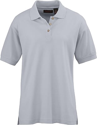 Medline Women XL Whisper Pique Polo Shirt, Gray (931GRYXL)