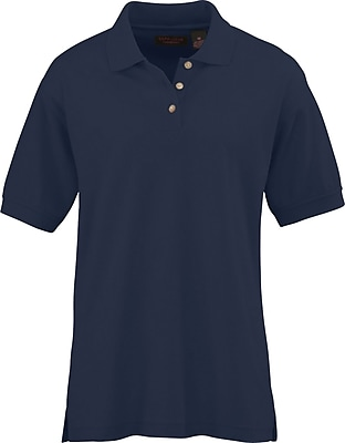 Medline Women XL Whisper Pique Polo Shirt, Navy (931NVYXL)