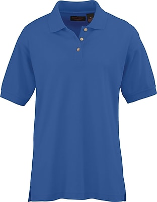 Medline Women Large Whisper Pique Polo Shirt, Royal Blue (931RYLL)