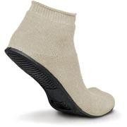 Sure-Grip® Rubber Sole Slippers, Beige, XL