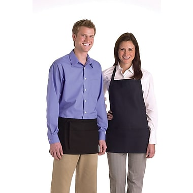 Medline Unisex One Size Fits Most Bib Apron with Pockets, Navy (MDT7700473NS)