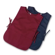 Medline Unisex Cobbler Apron, Burgundy (MDT7701243NS)