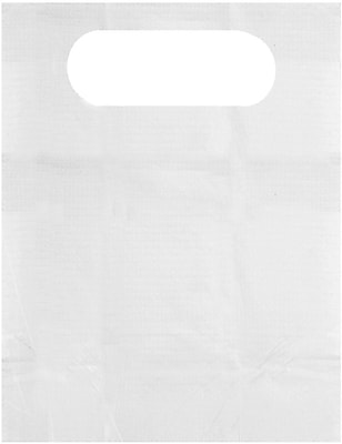 Medline NON24268OH Disposable Overhead Adult Bibs 300/Case, White