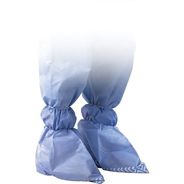 Medline Men XL Non-Skid Ankle Covers, Blue (NON27145XL)