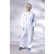 Medline Classic Breathable Coveralls, White, 3XL