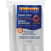 Goodtimes - Gobelets en mousse, 6-1/2 oz, 20 x Paq./100